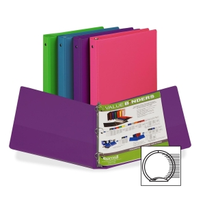 FASHION COLOR BINDER 1IN CAPACITY