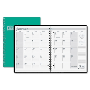 ACADEMIC MONTHLY PLANNER 8 1/2 X 11