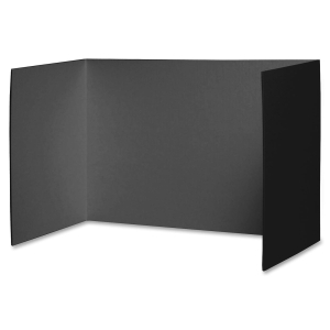BLACK PRIVACY BOARDS 48 X 16 4PK
