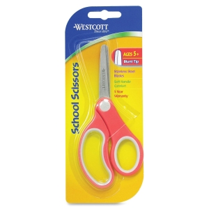 WESTCOTT SOFT HANDLE 5IN KIDS