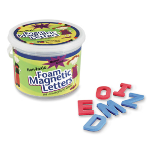 FOAM MAGNETIC LETTERS 2 UPPERCASE