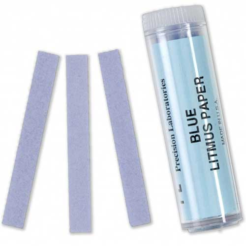 Blue Litmus Paper - Vial of 100