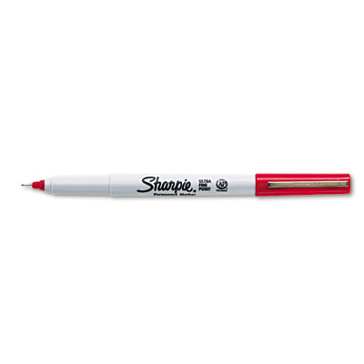 MARKER SHARPIE ULTRA FINE RED