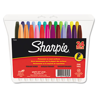 SHARPIE FINE FELT POINT 24 COLOR
