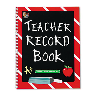 TEACHER RECORD BOOK CHALKBOARD