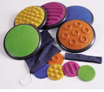 TACTILE DISCS SET OF 5