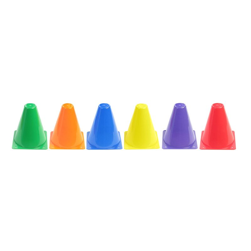 RIGID PLASTIC CONES 6IN SET OF 6