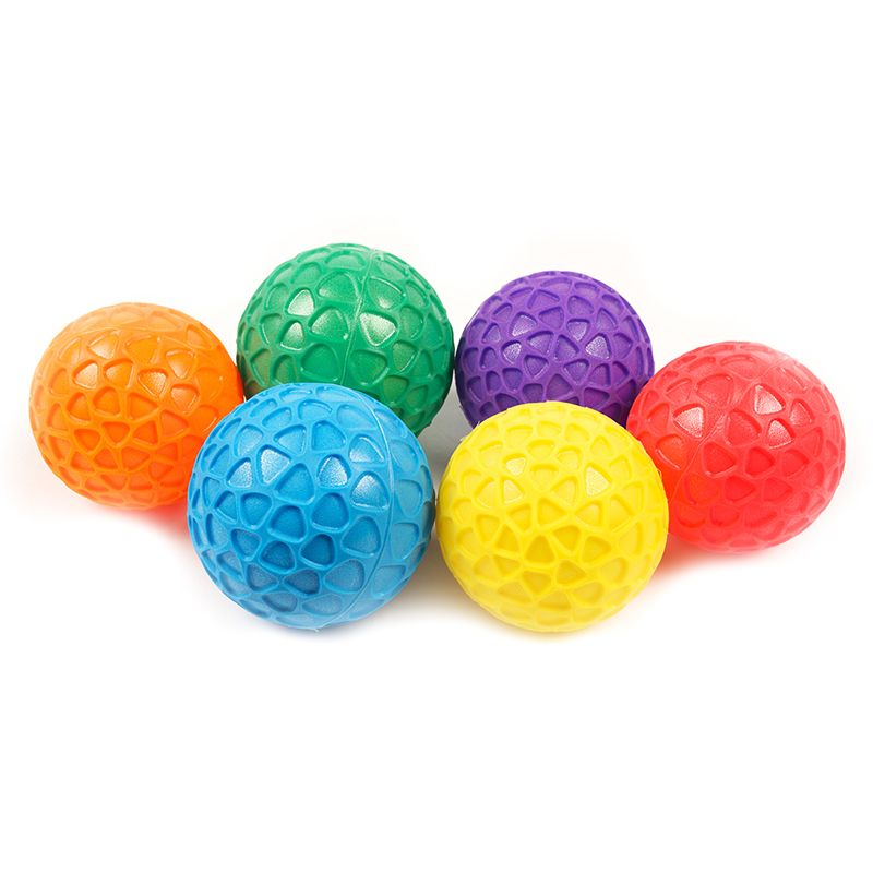 EASY GRIP BALL SET 3 1/2IN SET OF 6