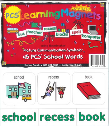 PCS LEARNING MAGNETS 45 SCHOOL