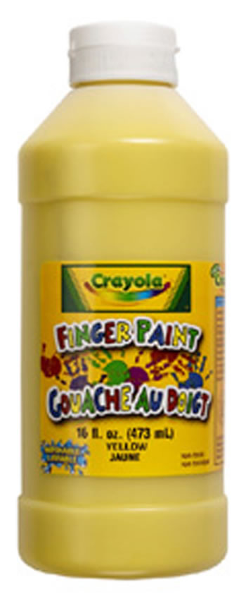 WASHABLE FINGERPAINT 16OZ BLUE