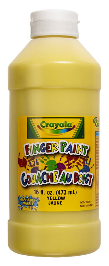 WASHABLE FINGERPAINT 16OZ BLACK