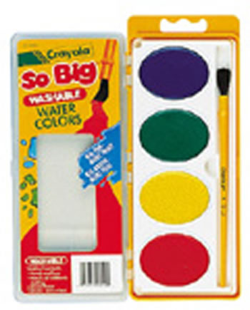 JUMBO WATERCOLOR REFILL 4 COLORS