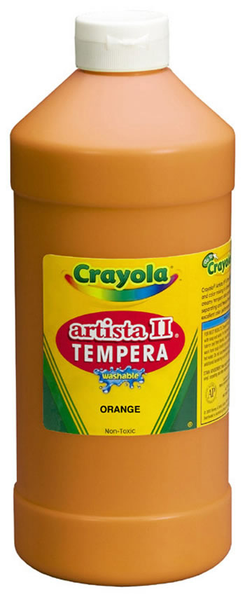 ARTISTA II TEMPERA 32 OZ YELLOW