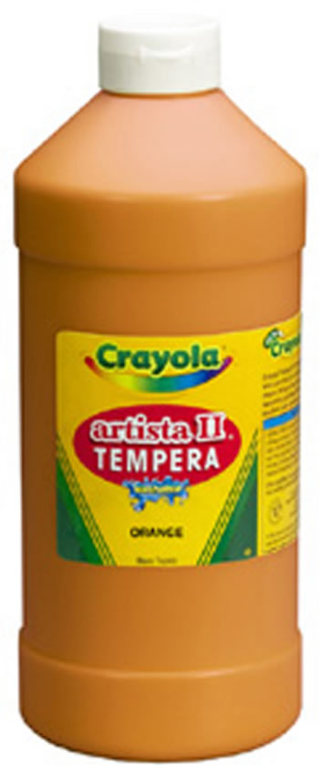 TEMPERA PAINT 32 OZ RED