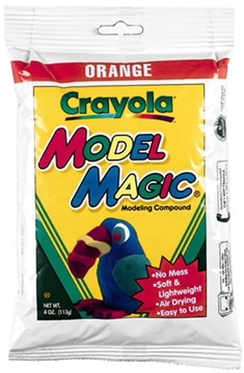 MODEL MAGIC 4 OZ ORANGE