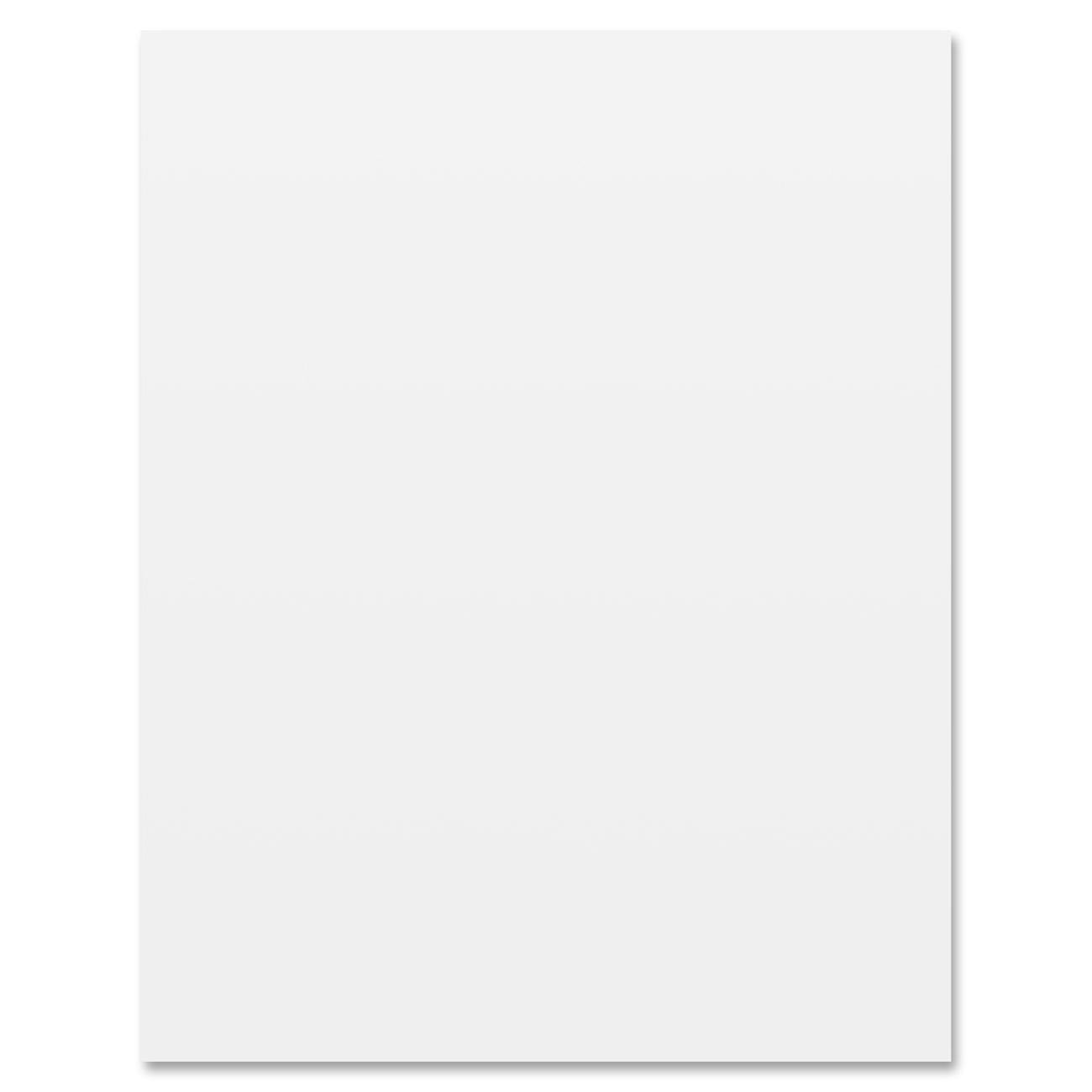 Letter Size Poster Board, 8.5x11