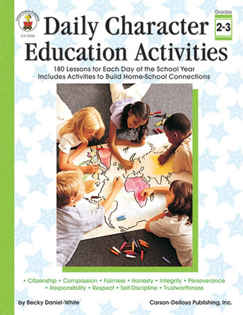 CHARACTER ED ACTIVITIES GR2-3 DAILY
