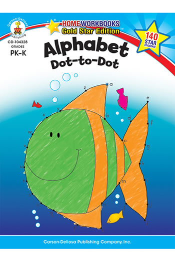 ALPHABET DOT TO DOT HOME WORKBOOK