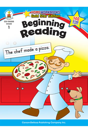 BEGINNING READING HOME WORKBOOK