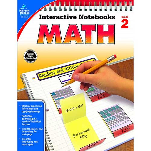 INTERACTIVE NOTEBOOKS MATH GR 2
