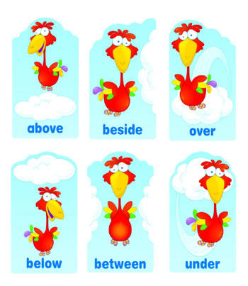 POSITIONAL WORDS MINI BB SET