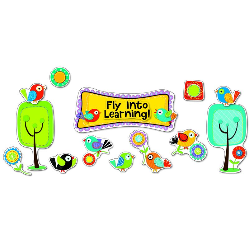 BOHO BIRDS FLY INTO LEARNING BB SET