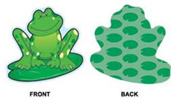 FROGS MINI CUTOUTS