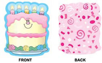 BIRTHDAY CAKES MINI CUTOUTS