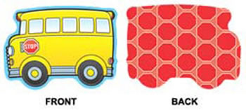 SCHOOL BUSES MINI CUTOUTS