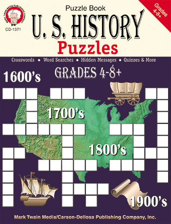 US HISTORY PUZZLES BOOK