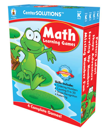MATH LEARNING GAMES GR K