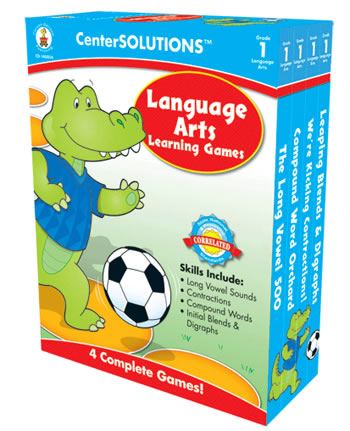 LANGUAGE ARTS LEARNING GAMES GR 1
