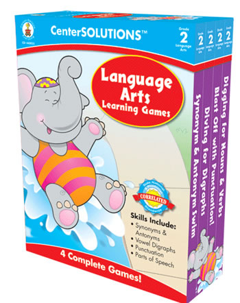 LANGUAGE ARTS LEARNING GAMES GR 2