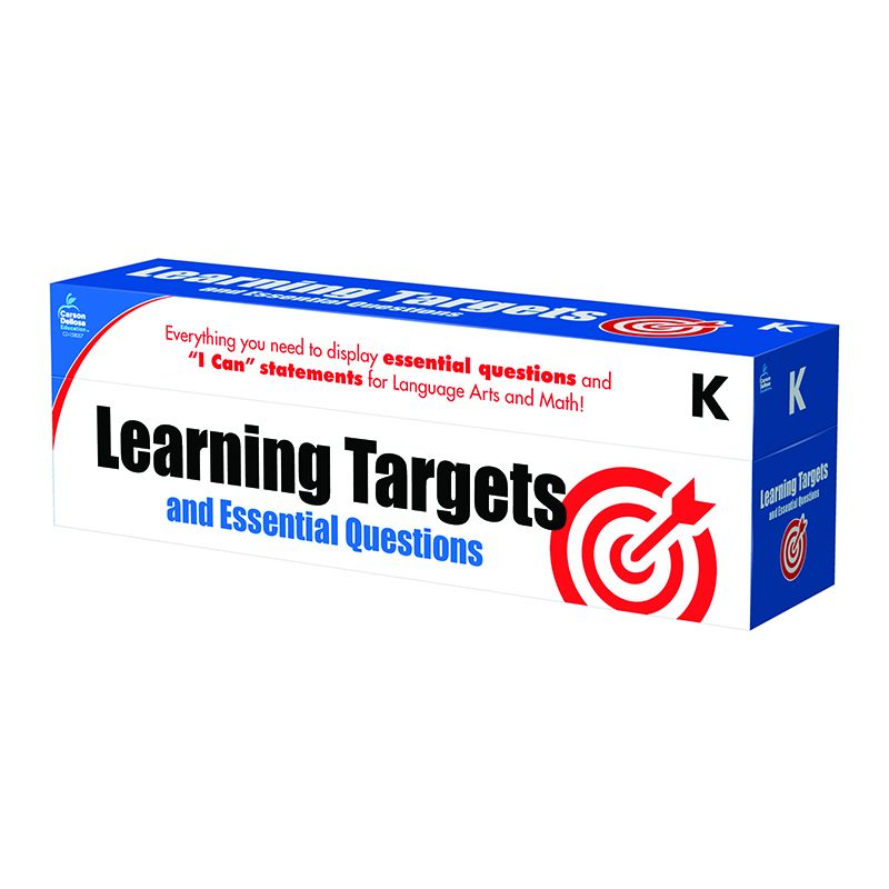 GR K LEARNING TARGETS & ESSENTIAL
