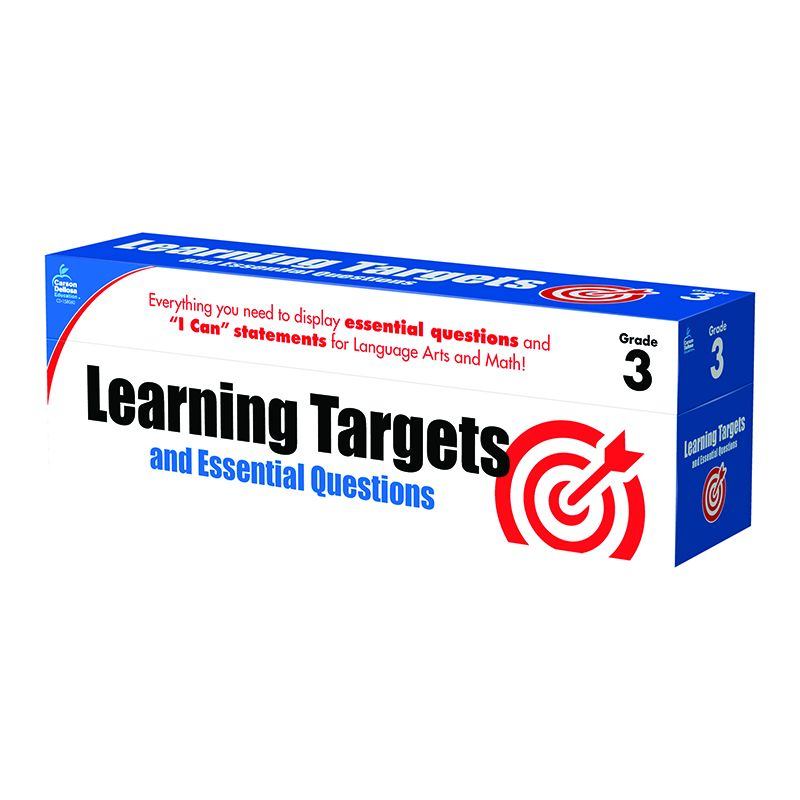 GR 3 LEARNING TARGETS & ESSENTIAL