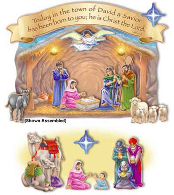 NATIVITY AND THE MAGIS VISIT
