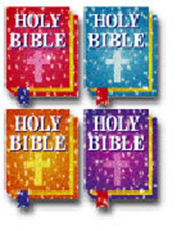 DAZZLE STICKERS BIBLES 120/PK ACID