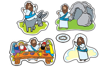 STICKERS EASTER PASSION
