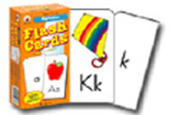 FLASH CARDS ALPHABET 6 X 3