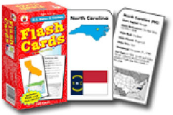 FLASH CARDS US STATES & CAPITALS