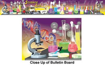 SCIENCE LAB TOOLS TOPPER