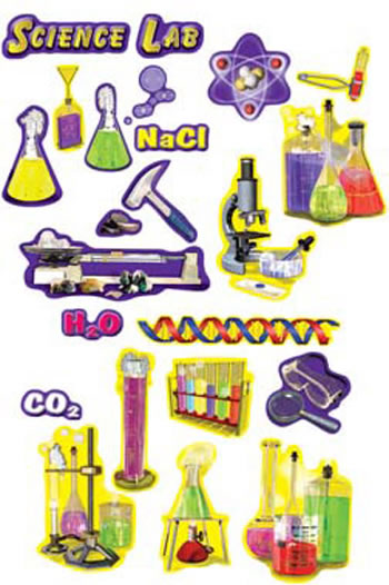SCIENCE LAB TOOLS PUNCHOUTS