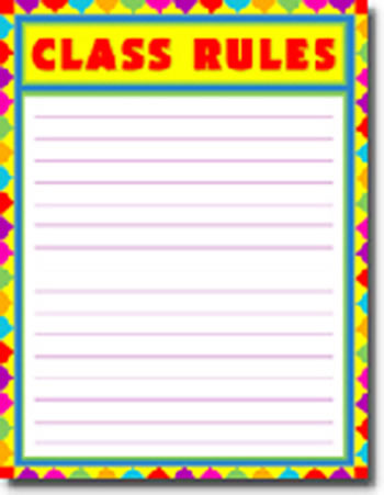 CLASS RULES BLANK