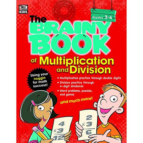 BRAINY BOOK OF MULTIPLICATION AND