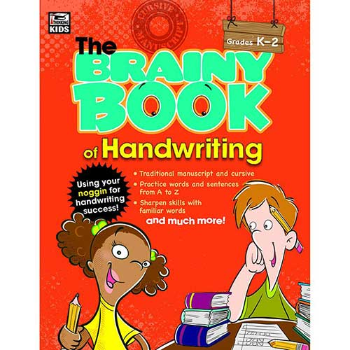 BRAINY BOOK OF HANDWRITING GR K-2
