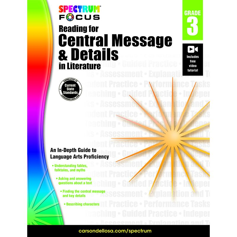 SPECTRUM READING CENTRAL MESSAGE
