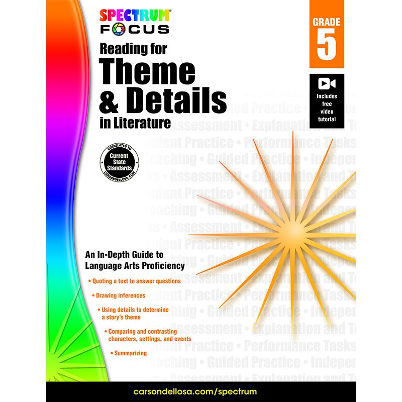 SPECTRUM READING THEME & DETAILS IN