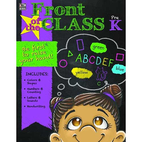 FRONT OF THE CLASS BOOK GR PK