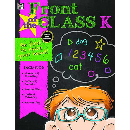 FRONT OF THE CLASS BOOK GR K