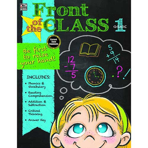 FRONT OF THE CLASS BOOK GR 1